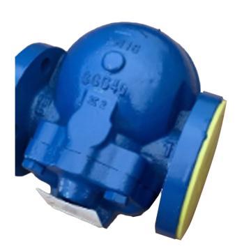 斯派莎克 球墨鑄鐵浮球式蒸汽疏水閥,FT43 DN40,PN16 法蘭連接