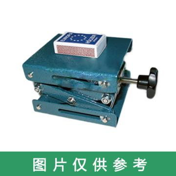 手动实验室用升降台,最低高度60mm,最高高度250mm