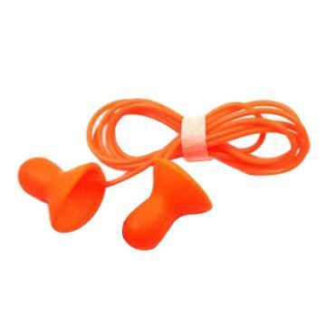 霍尼韦尔Honeywell 可重复使用耳塞,QD30,Quiet 钟型硅胶材质 带线,100副/盒