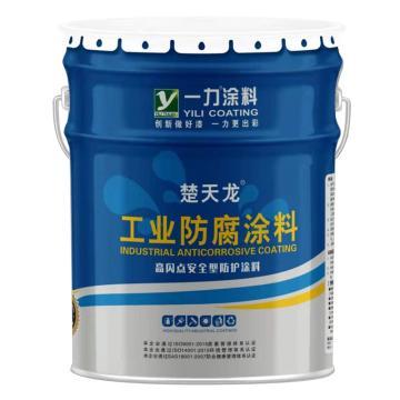 楚天龙 环保型环氧地坪漆底漆,透明色,15kg主漆+3kg固化剂