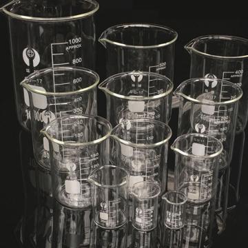 环球 带刻度玻璃烧杯,100ml 外径53mm 含质检报告