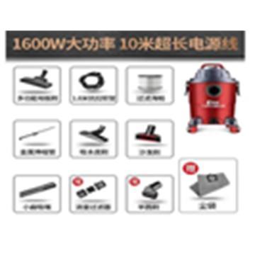 杰诺 真空吸尘器,JN-308S,功率:1600W,容量:20L,多种配件 单位:套