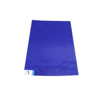 """Raxwell 粘塵墊,18""""*36"""" 藍色 30層/本,10本/盒 單位:盒"""