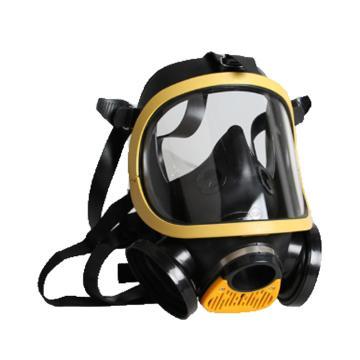 霍尼韋爾Honeywell 全面罩,1710641,Cosmo黃色EPDM