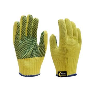 杜邦DuPont Kevlar 3級防切割點珠手套,均碼,KK1051