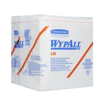 金佰利工業擦拭紙,WYPALL L40 折疊式05701,56張/包 18包/箱 單位:箱