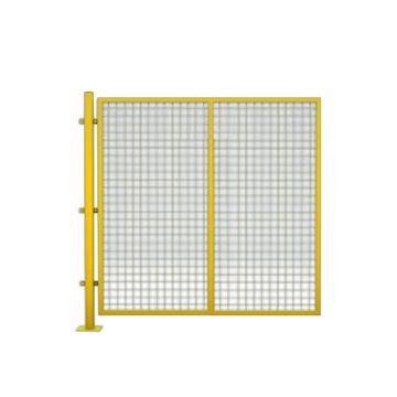 西域推薦 隔離網,孔徑5*5鐵絲網,鋼絲粗度3.8MM,高1.5m*寬1.5m