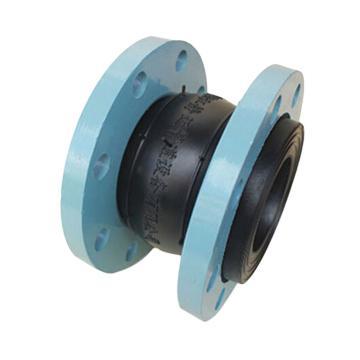 靜邁 可曲撓橡膠接頭,丁腈橡膠NBR(耐油),碳鋼烤漆法蘭,KXT-F-2,DN40,PN16
