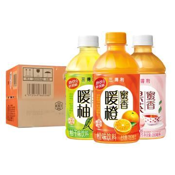 三得利 蜜香暖柚,350ml*24瓶 箱裝(按箱起售)
