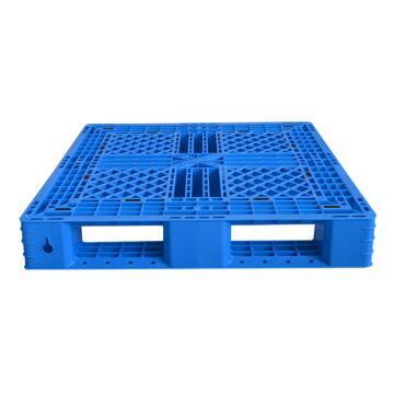 Raxwell 網格田字托盤,尺寸:1200×1000×150mm,動載:700kg,靜載:3000kg,藍色,不含鋼管