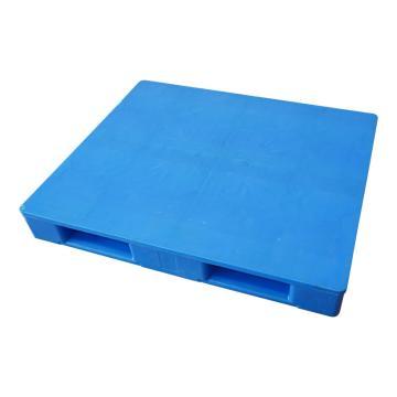 Raxwell 平板田字托盤,尺寸:1200×1000×160mm,動載:1000kg,靜載:4000kg,藍色,不含鋼管