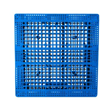 Raxwell 網格雙面托盤,尺寸:1100×1100×150mm,動載:1000kg,靜載:4000kg,藍色,不含鋼管