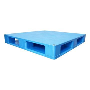 Raxwell 平板雙面托盤,尺寸:1200×1000×150mm,動載:1500kg,靜載:6000kg,藍色,不含鋼管