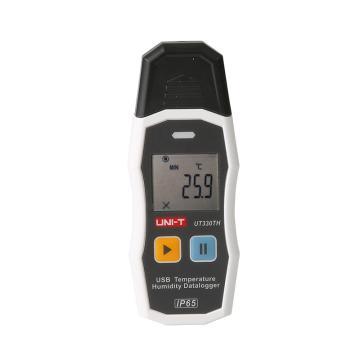 優利德 USB溫濕度記錄儀,UT330TH
