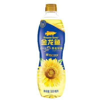金龍魚 自然葵香葵花籽油,900ML