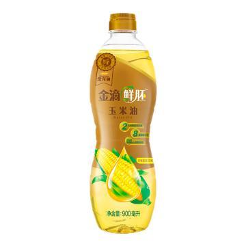 金龍魚 陽光鮮胚甜香玉米油,900ML