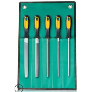 千鼎 木工銼刀,五件套鋼銼刀10寸中齒