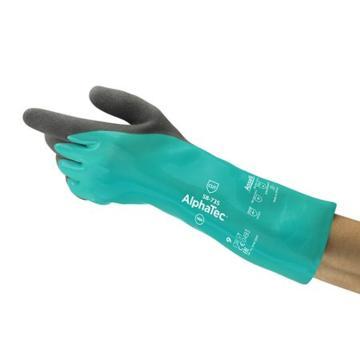安思爾Ansell 丁腈防化手套,C級防割,AlphaTec,58-735-9