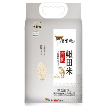 津寶地 小站稻 有機鰍田米,5kg