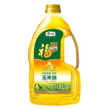 福臨門 黃金產地玉米油,1.8L 中糧出品