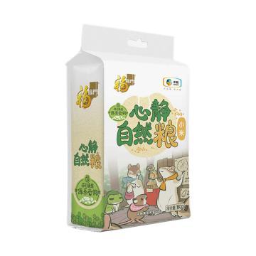 福臨門 心靜自然糧-黃小米,1kg 中糧出品