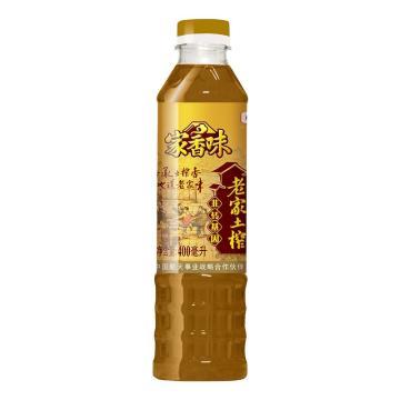 福臨門 家香味濃香壓榨菜籽油,400ml 中糧出品