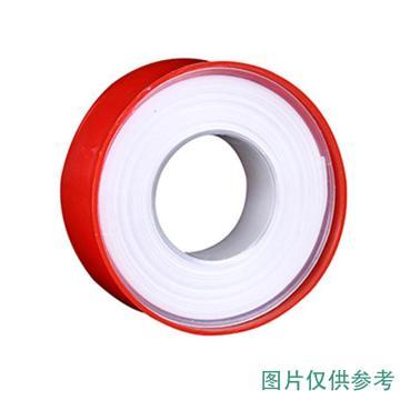 西域推薦 聚四氟乙烯生料帶,厚0.10×寬18mm,12m,不帶油