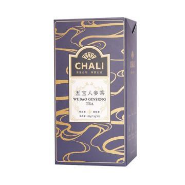 茶里 五寶人參茶盒裝150g,7.5g/包 20包/盒