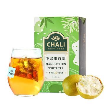 茶里 羅漢果白茶盒裝45g,3g/包 15包/盒