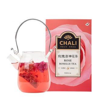 茶里 玫瑰洛神花茶盒裝40g,4g/包 10包/盒