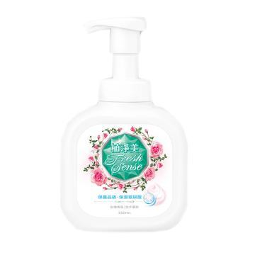 植凈美 草本洗手慕斯,玫瑰香氛 350ml/瓶 單位:瓶