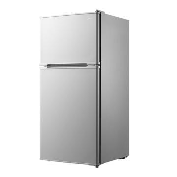 美的 112L双门迷你冰箱,BCD-112CM,低噪节能电冰箱