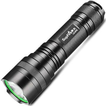 神火 L6-XPE可充电式 LED强光手电筒,升级为5W 含1节26650锂电池 含单槽USB接口充电器,单位:个