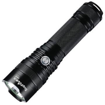 神火 L6-S 可充电式 LED强光手电筒,10W 含1节26650锂电池 大小USB双接口 USB充电线,单位:个
