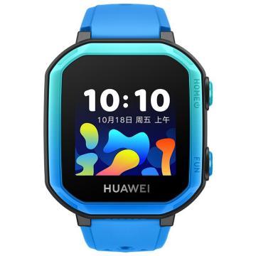 華為 兒童電話手表3s 4G全網通/八重精準定位/學習助手 冰山藍 NEO-AL10
