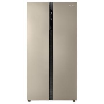 美的 对开门冰箱,BCD-527WKM(ZG),芙蓉金