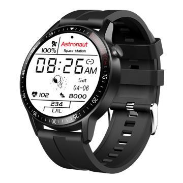 紐曼 G600 運動智能手表,戶外藍牙防水電話手表成人 心率血壓監測,華為小米蘋果通用