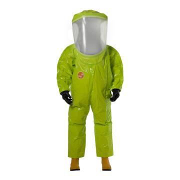 杜邦Dupont 歐標1類防化服,TK554T-M,全封閉內置式連體氣密服 黃色