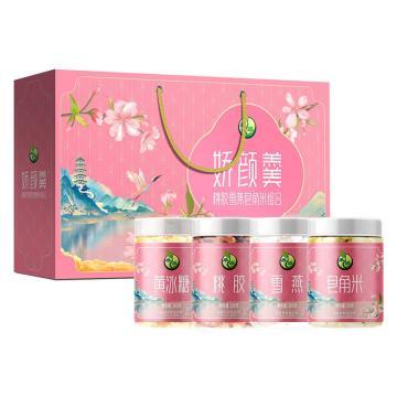 禾煜 桃膠雪燕皂角米禮盒,480g