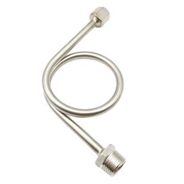 尼威克 不銹鋼壓力表緩沖管,316不銹鋼內M20×1.5cm 外1/2 90°