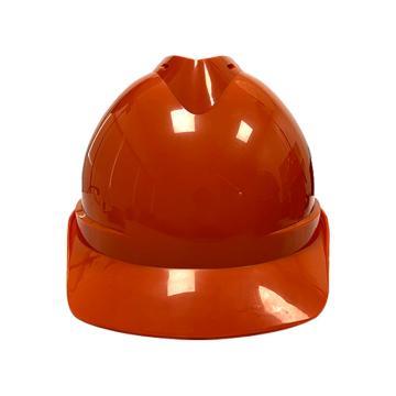 Raxwell Victor安全帽,橘黃色,耐低溫電絕緣阻燃,8點式鎖扣,ABS,RW5104