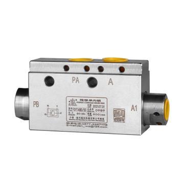 基安 推移液控單向閥,500L/min,PN50MPa,FDYT480/50(DN10/20/20)A3X,煤安證號MEE070620