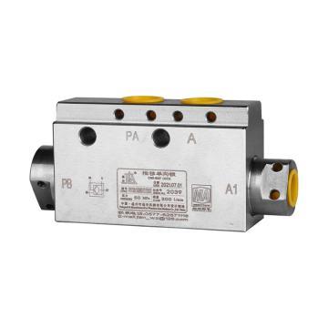 基安 推移液控單向閥,Qg:200L/min,PN50MPa,YDF-42/200(G),煤安證號MEE930005