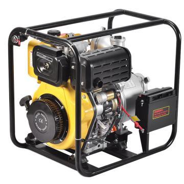 伊藤動力 4寸柴油機水泵電啟動YT40DPE