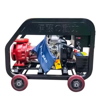 伊藤動力 雙缸消防高壓泵YT65-50套氟