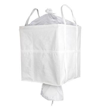Raxwell 噸袋,四吊大扎口下料口,尺寸(cm):90*90*110,靜載1.5t,全新料,10個/包
