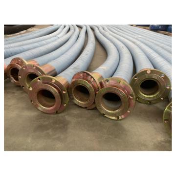 鼎豐 夾布橡膠鋼絲纏繞管,300mm*6m 5Mpa