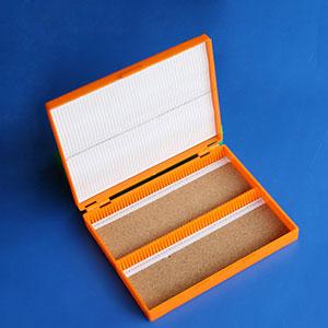 载玻片盒,100片装