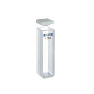 常量矩形比色皿,石英,PTFE 盖,2 mm 光程,700 µL,适用于 Agilent 8453 紫外-可见分光光度计