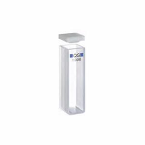 常量矩形比色皿,石英,PTFE 盖,10 mm 光程,3.5 mL,适用于 Agilent 8453 紫外-可见分光光度计